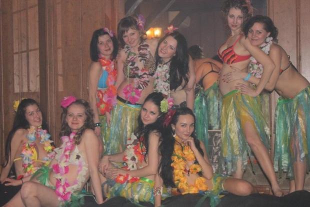 "Вечеринка в стиле ""Гавайи"""