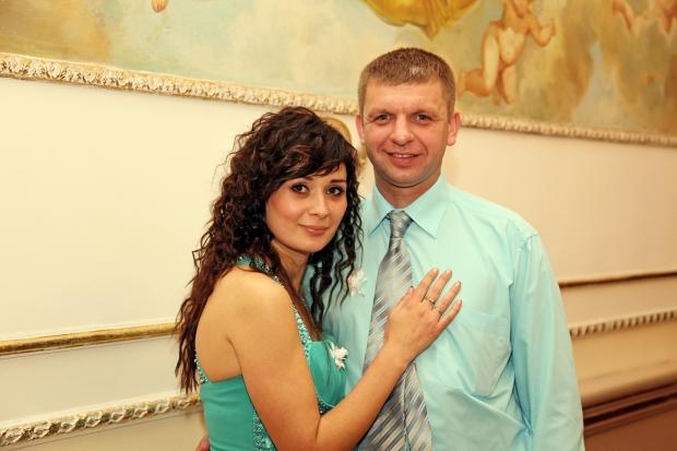 Мой Андриано Челентано и я...такая, в тон его рубашки )