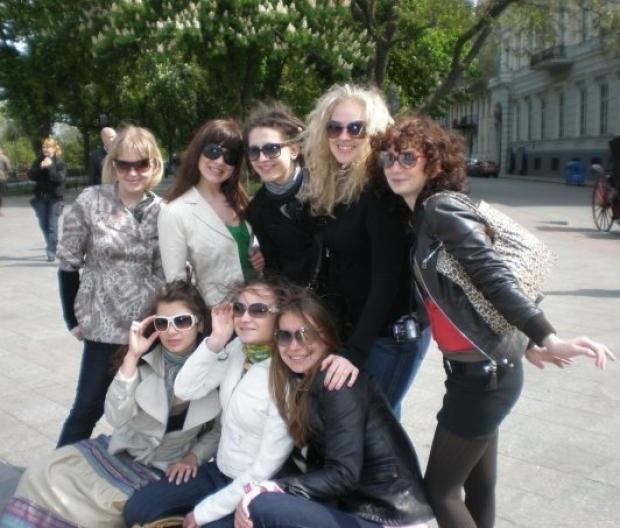Поездка с одногрупницами на майские праздники в Одессу :)