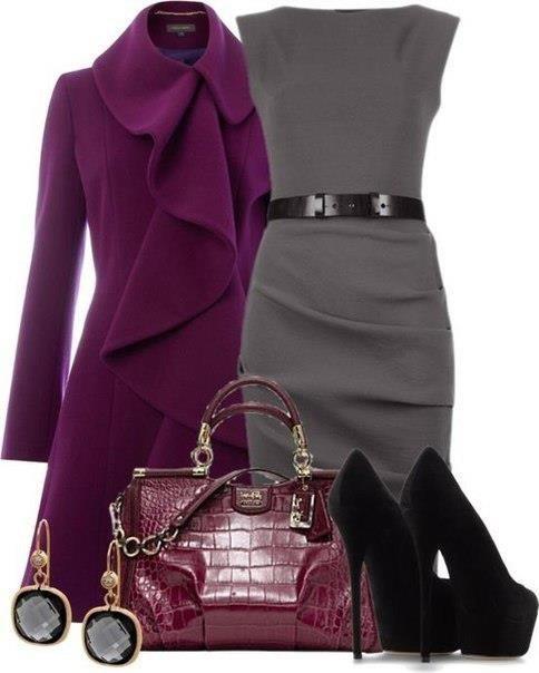 Так можно одеваться каждый день. Одеваться и удивлять, завораживать и заставлять себе завидовать. Вы будете выглядеть элегантно, богато, роскошно.