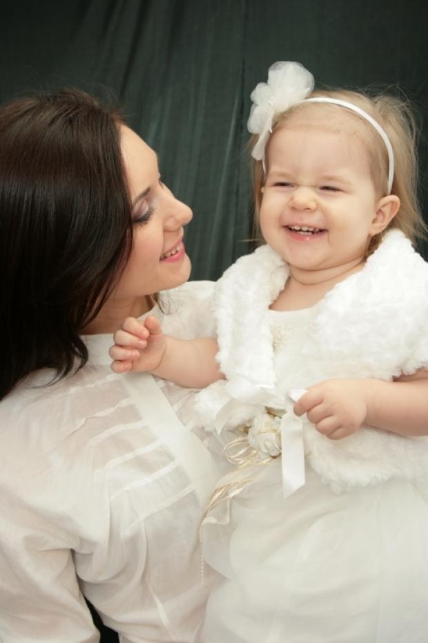 Моя любимая и долгожданная доченька ))))
