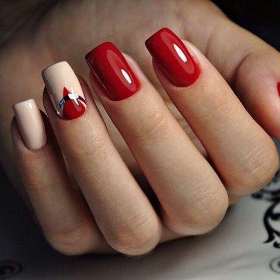 Порно красные ногти онлайн