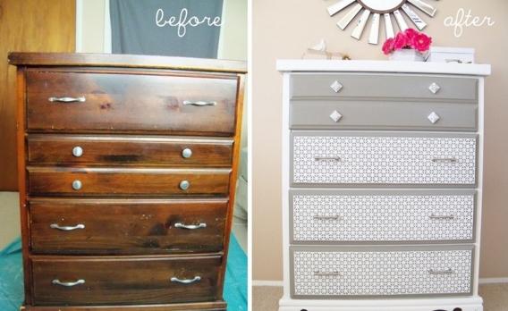 реставрация старой мебели как оригинально и красиво ремонтировать