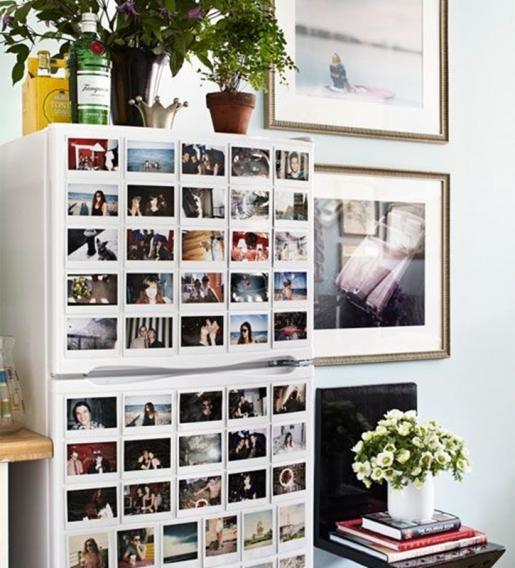 Как сделать шкаф из старого холодильника фото