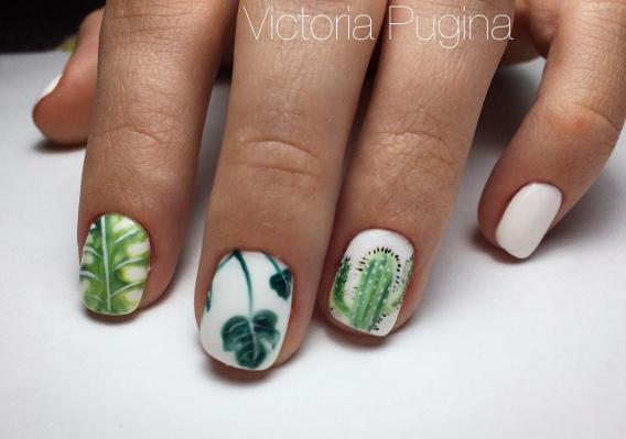 Весенний маникюр: 50 вариантов дизайна ногтей