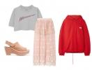 Воздушная длинная юбка и укороченный топ: комбинируем стили
