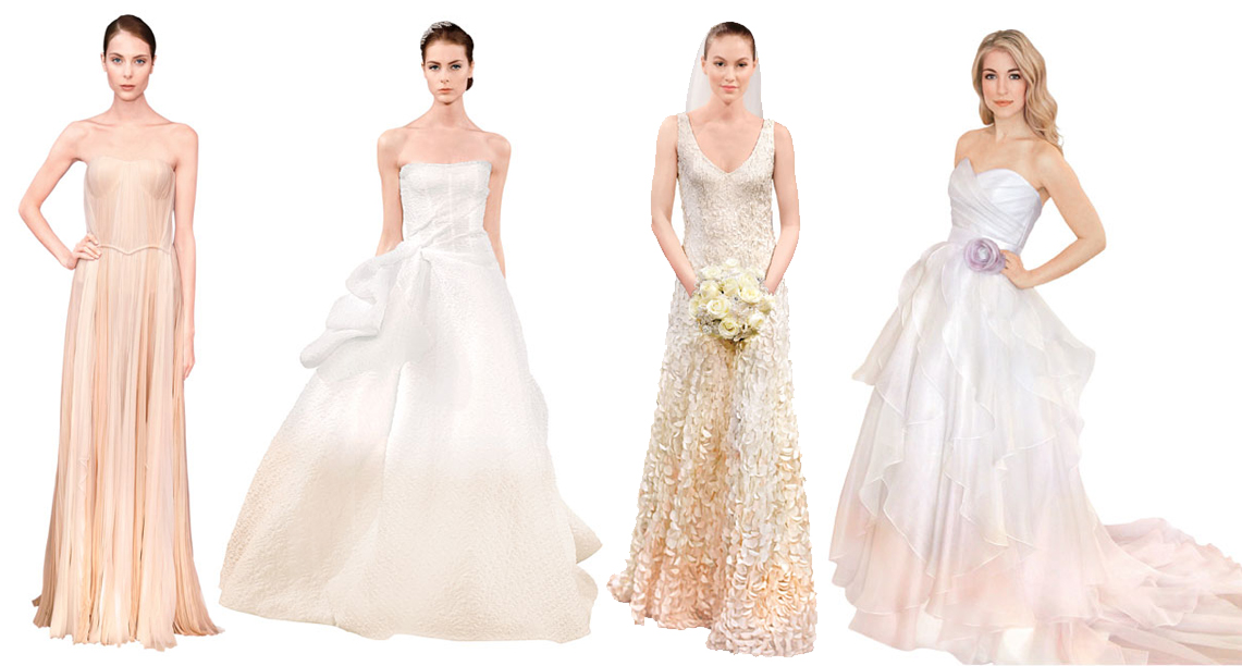 Модные свадебные платья весны-лета 2014 - фото №4