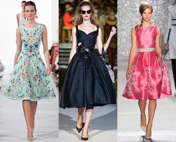 Модные платья сезона весна-лето 2014 - фото №9