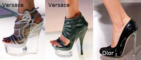 Микротренд: обувь из прозрачного пластика - фото №1