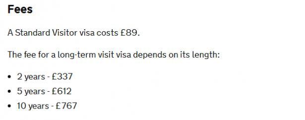 Получить британскую визу