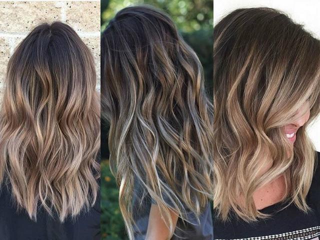 Техника окрашивания волос 2016: бронд