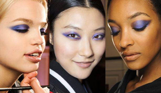 Тренд в макияже: фиолетовый цвет - фото №1