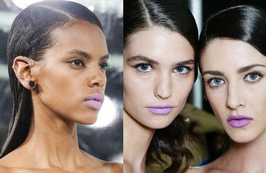 Тренд в макияже: фиолетовый цвет - фото №2