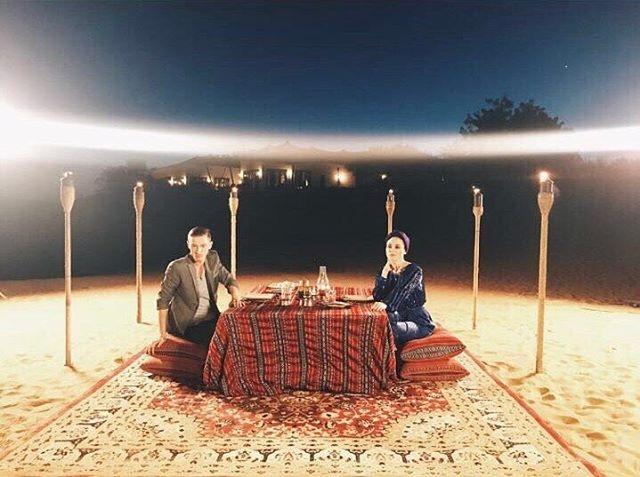 Ляйсан Утяшева подарила Павлу Воле на 38-летие ужин в пустыне (ФОТО) - фото №2