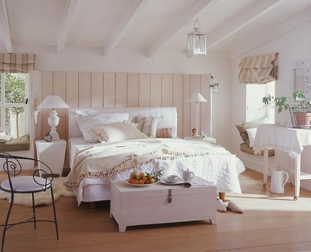 интерьер штор для спальни фото