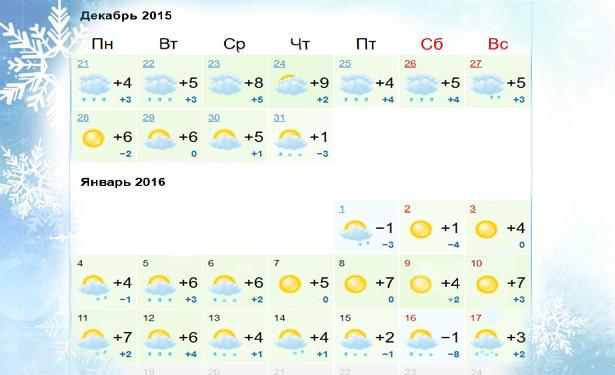 Какой будет погода на Новый Год 2016 в Украине - фото №6