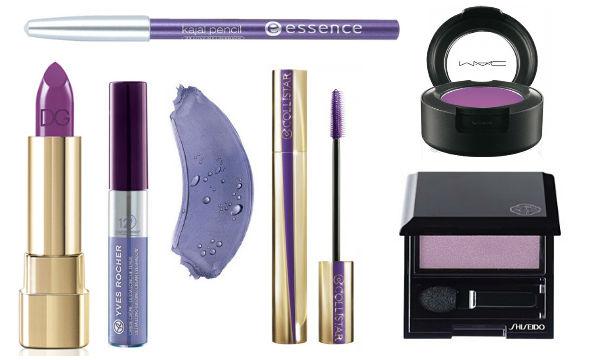 Тренд в макияже: фиолетовый цвет - фото №3