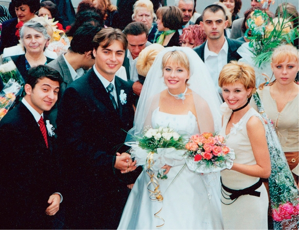 свадьба елены кравец фото