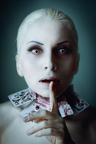 Варианты макияжа для праздника Хэллоуин 2013 - фото №2