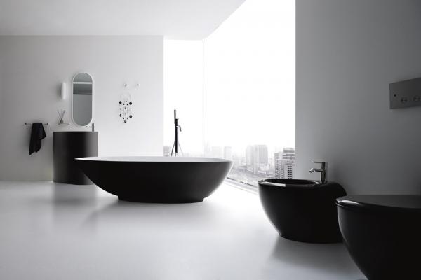 минимализм ванная фото