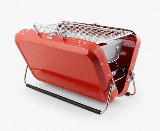 переносной барбекю-чемодан