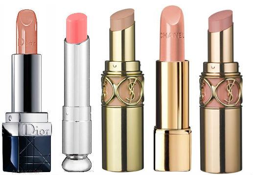Звездотренд: макияж губ в стиле nude - фото №1