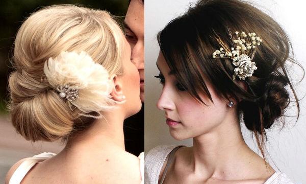 Модные свадебные прически весна-лето 2014 - фото №1