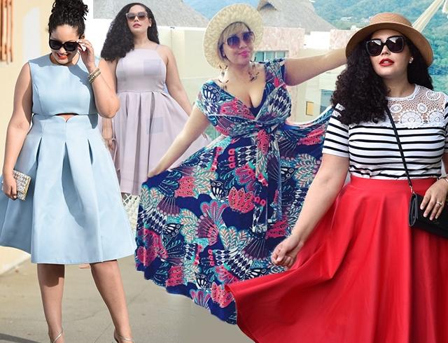 лето 2016 мода для полных