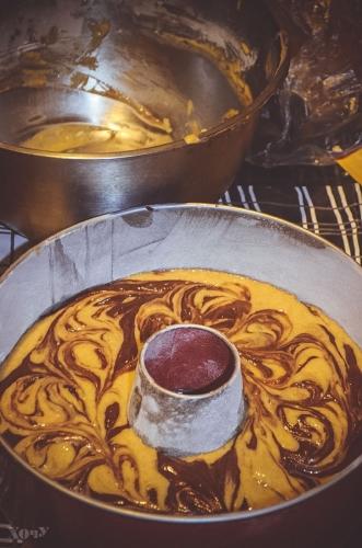 шоколадно-тыквенный кекс как готовить