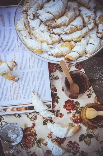 сырные рогалики рецепты