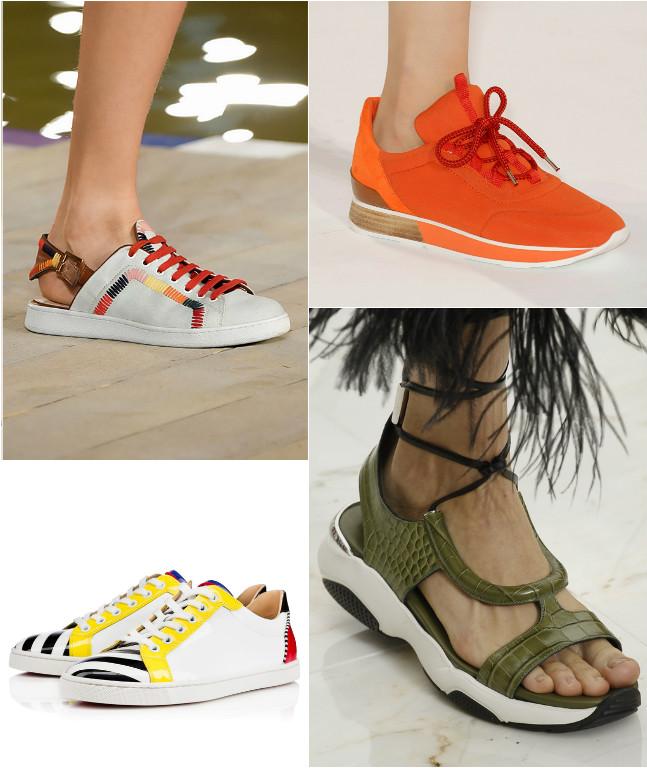 как носить кроссовки