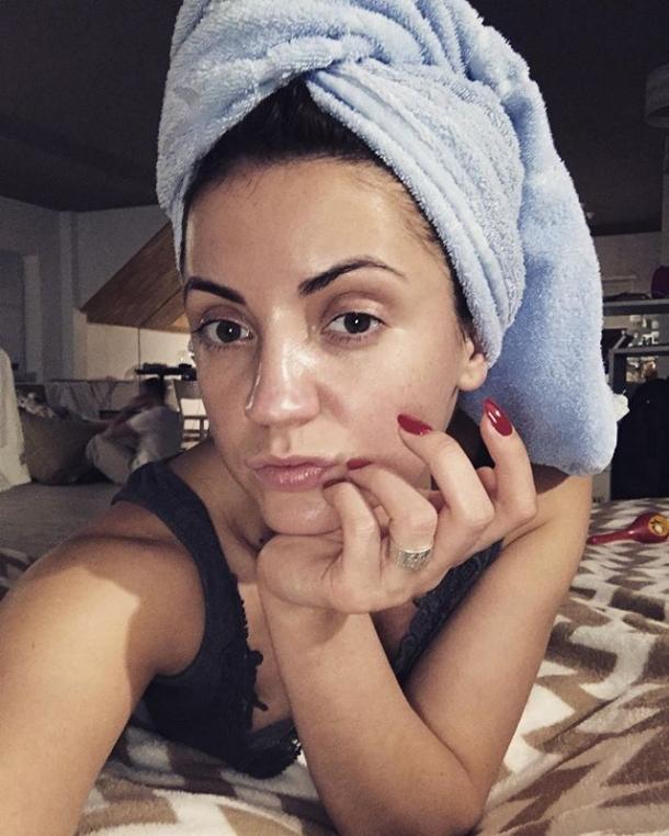 Антигламурное селфи: Оля Цибульская показала лицо без макияжа (ФОТО) - фото №1