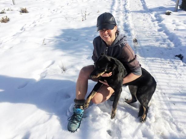 Руслана пробежалась по снегу в мини-шортах (ФОТО) - фото №1