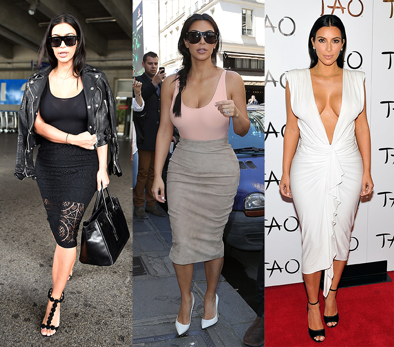 Одеться как Ким Кардашьян - фото №1