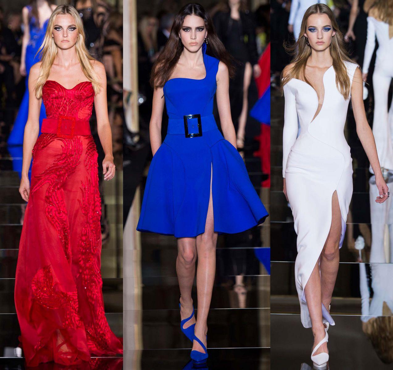 Неделя высокой моды в Париже: коллекция Atelier Versace, весна 2015 - фото №1