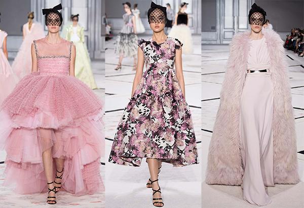 Неделя высокой моды в Париже: коллекция Giambattista Valli, весна 2015 - фото №1