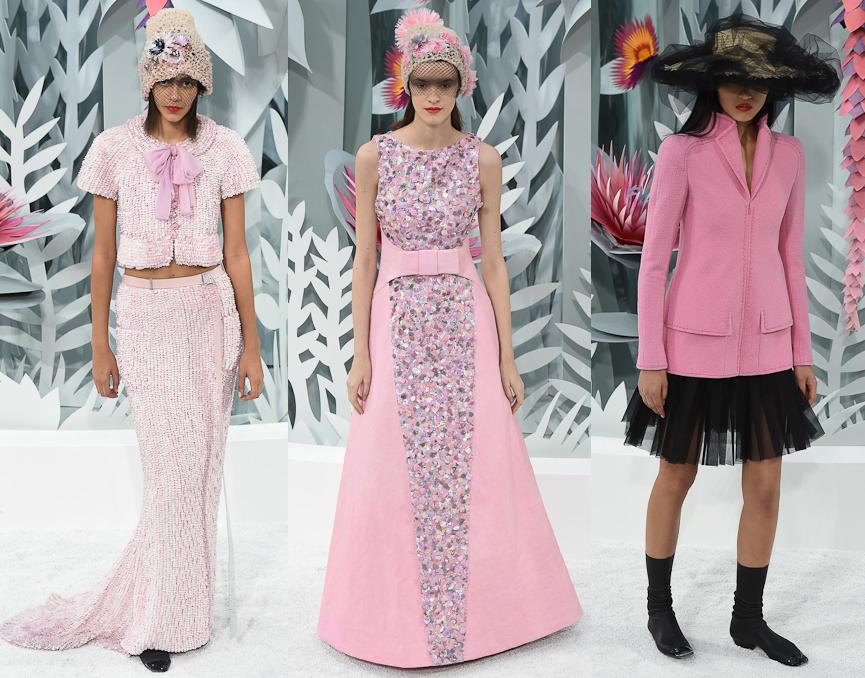 Неделя высокой моды в Париже: коллекция Chanel, весна 2015 - фото №1