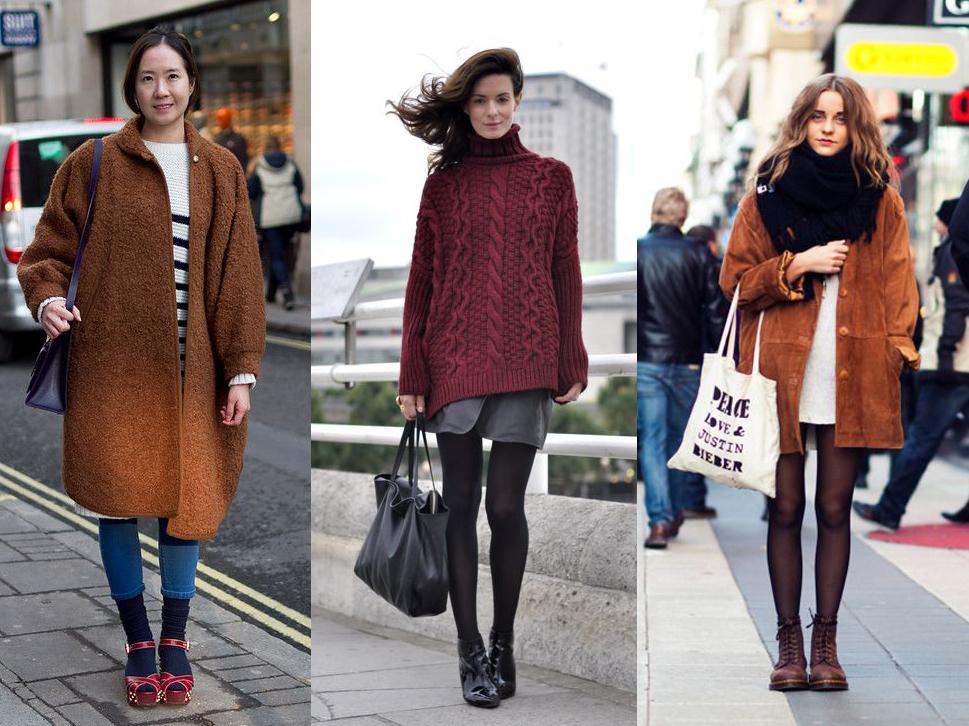 Как красиво носить колготки и носки - фото №2