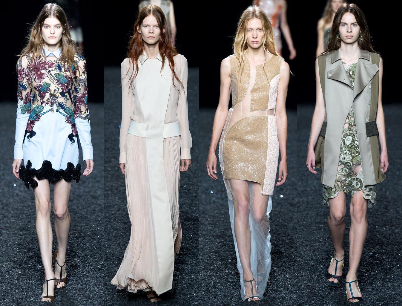 Неделя моды в Лондоне: Mary Katrantzou, весна-лето 2015 - фото №1