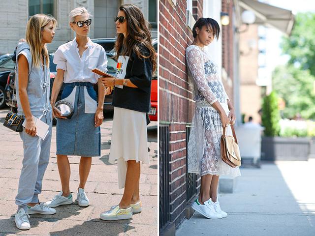 В белых тапочках: 14 пар белых кроссовок на лето