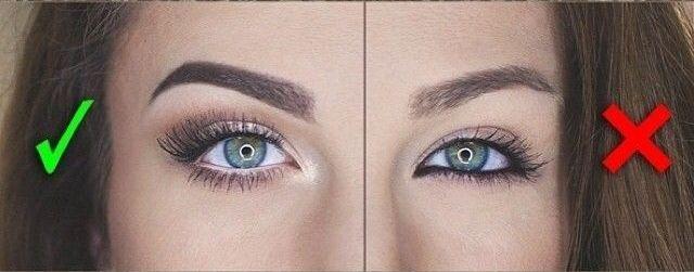 Как сделать глаза визуально больше с помощью макияжа - фото №4