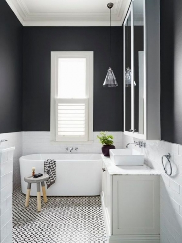 ванная комната с плиткой фото