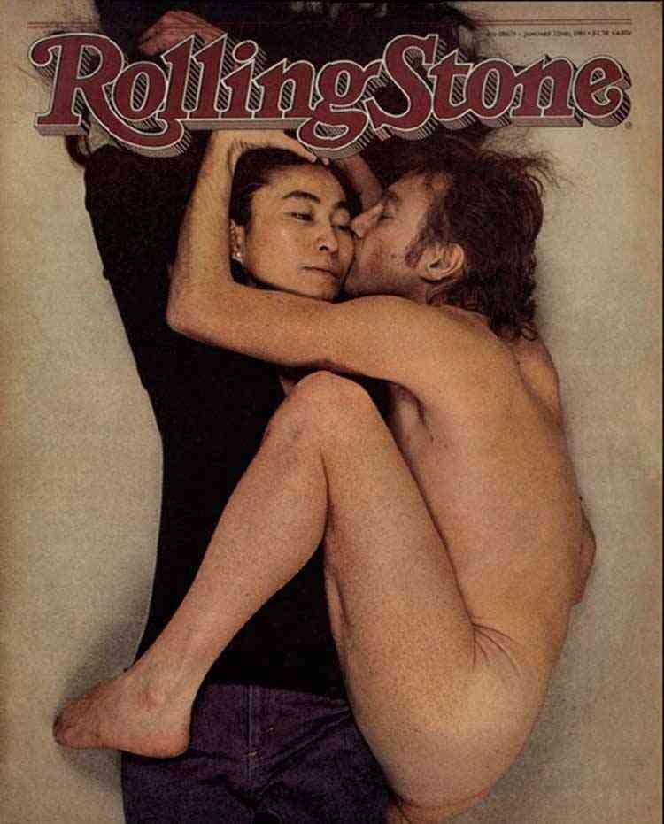 Самые «голые» обложки: от Джона Леннона до Ким Кардашьян