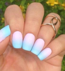 50 идей модного летнего маникюра и дизайна ногтей (фото) - фото №19