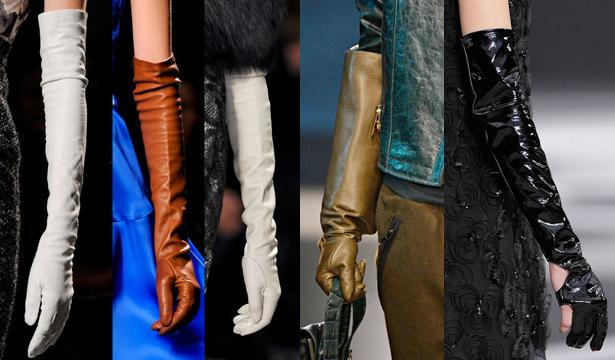 Модные перчатки сезона осень-зима 2013-2014 - фото №1