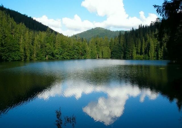 отдых на природе, озеро