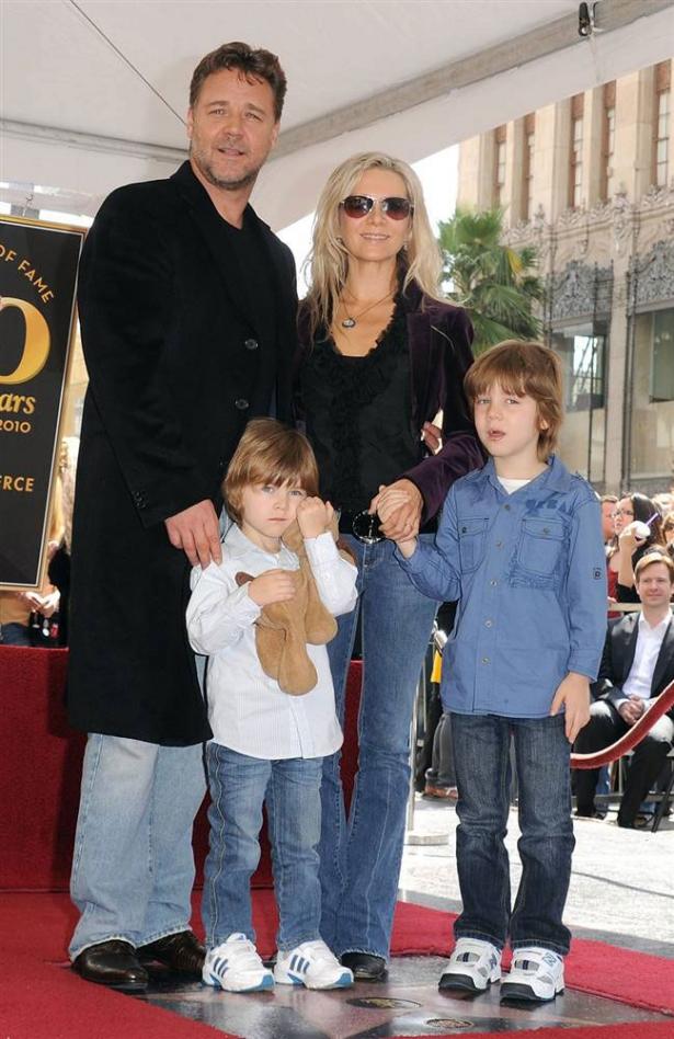 Рассел Кроу жена и дети
