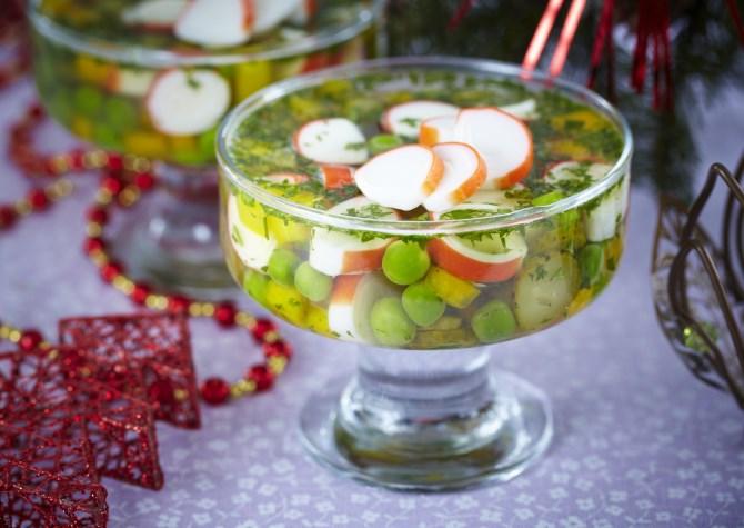 Рецепты блюд на новогодний стол 2014: холодец и заливное - фото №1