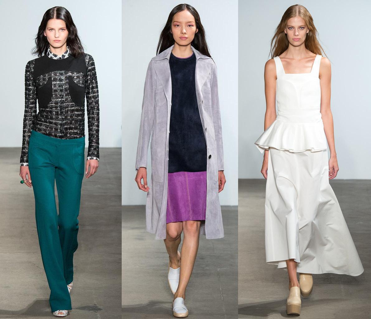 Неделя моды в Нью-Йорке: Derek Lam, весна-лето 2015 - фото №1