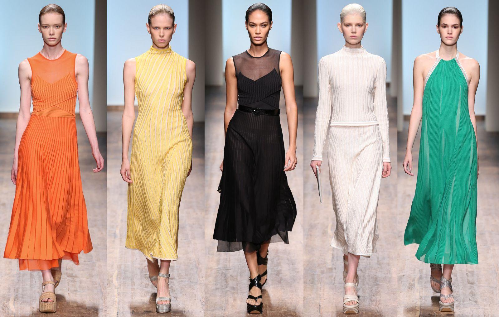 Неделя моды в Милане: Salvatore Ferragamo, весна-лето 2015 - фото №1